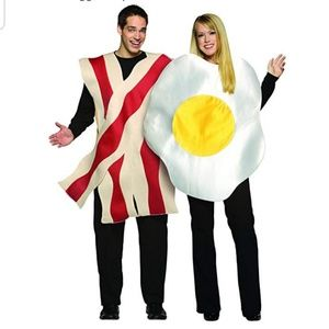 Other - Bacon and eggs couples costume